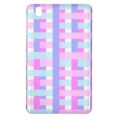 Gingham Nursery Baby Blue Pink Samsung Galaxy Tab Pro 8 4 Hardshell Case