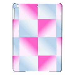 Gradient Blue Pink Geometric Ipad Air Hardshell Cases