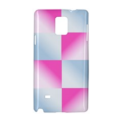 Gradient Blue Pink Geometric Samsung Galaxy Note 4 Hardshell Case