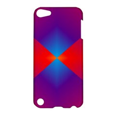 Geometric Blue Violet Red Gradient Apple Ipod Touch 5 Hardshell Case