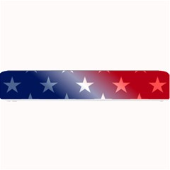 America Patriotic Red White Blue Small Bar Mats