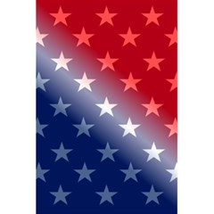 America Patriotic Red White Blue 5 5  X 8 5  Notebooks