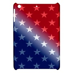 America Patriotic Red White Blue Apple Ipad Mini Hardshell Case