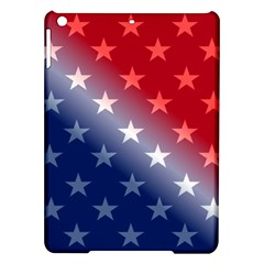 America Patriotic Red White Blue Ipad Air Hardshell Cases
