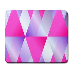 Gradient Geometric Shiny Light Large Mousepads