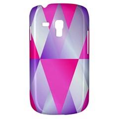 Gradient Geometric Shiny Light Galaxy S3 Mini
