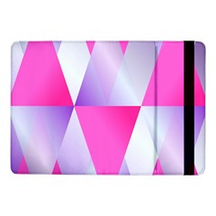 Gradient Geometric Shiny Light Samsung Galaxy Tab Pro 10 1  Flip Case