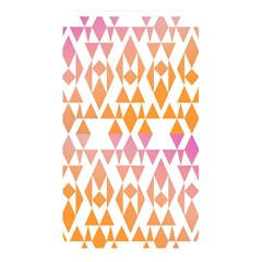 Geometric Abstract Orange Purple Memory Card Reader