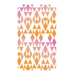 Geometric Abstract Orange Purple Memory Card Reader Front