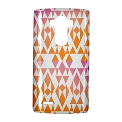 Geometric Abstract Orange Purple Lg G4 Hardshell Case