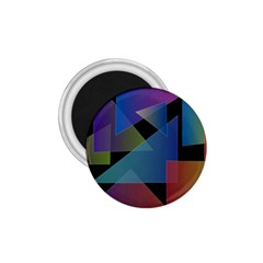 Triangle Gradient Abstract Geometry 1 75  Magnets