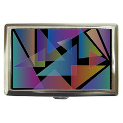 Triangle Gradient Abstract Geometry Cigarette Money Cases