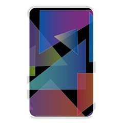 Triangle Gradient Abstract Geometry Memory Card Reader