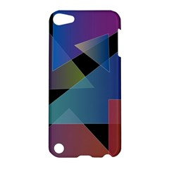Triangle Gradient Abstract Geometry Apple Ipod Touch 5 Hardshell Case