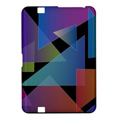 Triangle Gradient Abstract Geometry Kindle Fire Hd 8 9