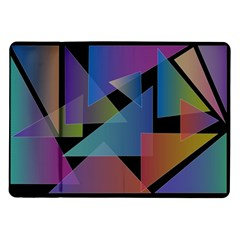 Triangle Gradient Abstract Geometry Samsung Galaxy Tab 10 1  P7500 Flip Case