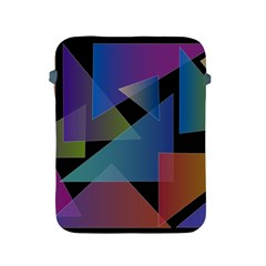 Triangle Gradient Abstract Geometry Apple Ipad 2/3/4 Protective Soft Cases