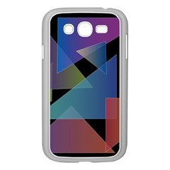 Triangle Gradient Abstract Geometry Samsung Galaxy Grand Duos I9082 Case (white)