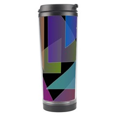 Triangle Gradient Abstract Geometry Travel Tumbler