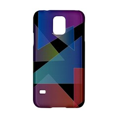 Triangle Gradient Abstract Geometry Samsung Galaxy S5 Hardshell Case