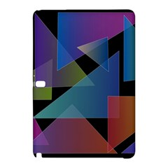 Triangle Gradient Abstract Geometry Samsung Galaxy Tab Pro 12 2 Hardshell Case
