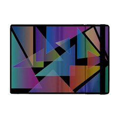 Triangle Gradient Abstract Geometry Ipad Mini 2 Flip Cases