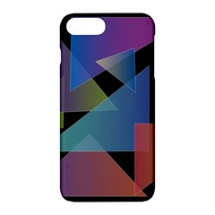 Triangle Gradient Abstract Geometry Apple Iphone 7 Plus Hardshell Case