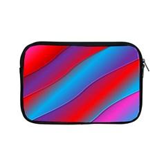 Diagonal Gradient Vivid Color 3d Apple Ipad Mini Zipper Cases