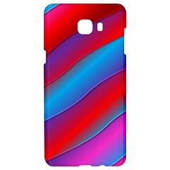 Diagonal Gradient Vivid Color 3d Samsung C9 Pro Hardshell Case