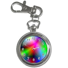 Course Gradient Background Color Key Chain Watches