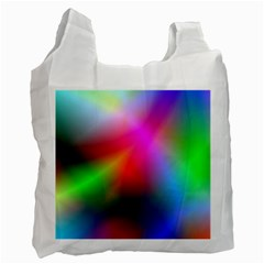 Course Gradient Background Color Recycle Bag (one Side)