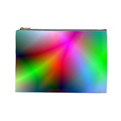 Course Gradient Background Color Cosmetic Bag (large)