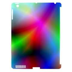 Course Gradient Background Color Apple Ipad 3/4 Hardshell Case (compatible With Smart Cover)