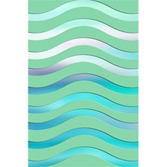 Abstract Digital Waves Background 5 5  X 8 5  Notebooks