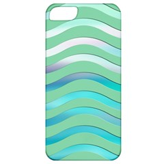 Abstract Digital Waves Background Apple Iphone 5 Classic Hardshell Case