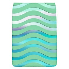 Abstract Digital Waves Background Flap Covers (s)
