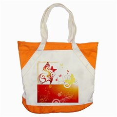 Spring Butterfly Flower Plant Accent Tote Bag