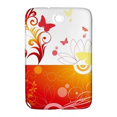 Spring Butterfly Flower Plant Samsung Galaxy Note 8 0 N5100 Hardshell Case