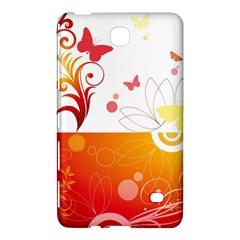 Spring Butterfly Flower Plant Samsung Galaxy Tab 4 (8 ) Hardshell Case