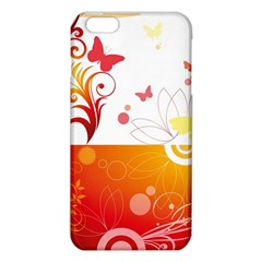 Spring Butterfly Flower Plant Iphone 6 Plus/6s Plus Tpu Case