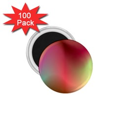 Colorful Colors Wave Gradient 1 75  Magnets (100 Pack)