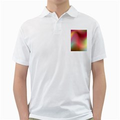 Colorful Colors Wave Gradient Golf Shirts