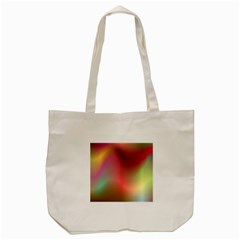 Colorful Colors Wave Gradient Tote Bag (cream)