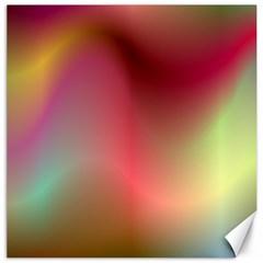 Colorful Colors Wave Gradient Canvas 12  X 12