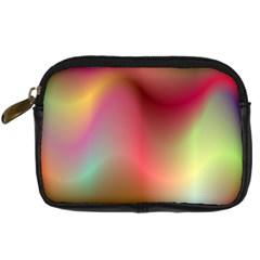 Colorful Colors Wave Gradient Digital Camera Cases