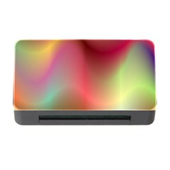 Colorful Colors Wave Gradient Memory Card Reader With Cf