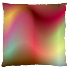 Colorful Colors Wave Gradient Large Cushion Case (two Sides)