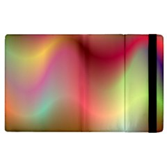Colorful Colors Wave Gradient Apple Ipad 2 Flip Case