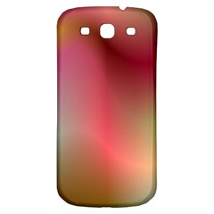 Colorful Colors Wave Gradient Samsung Galaxy S3 S Iii Classic Hardshell Back Case