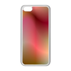 Colorful Colors Wave Gradient Apple Iphone 5c Seamless Case (white)